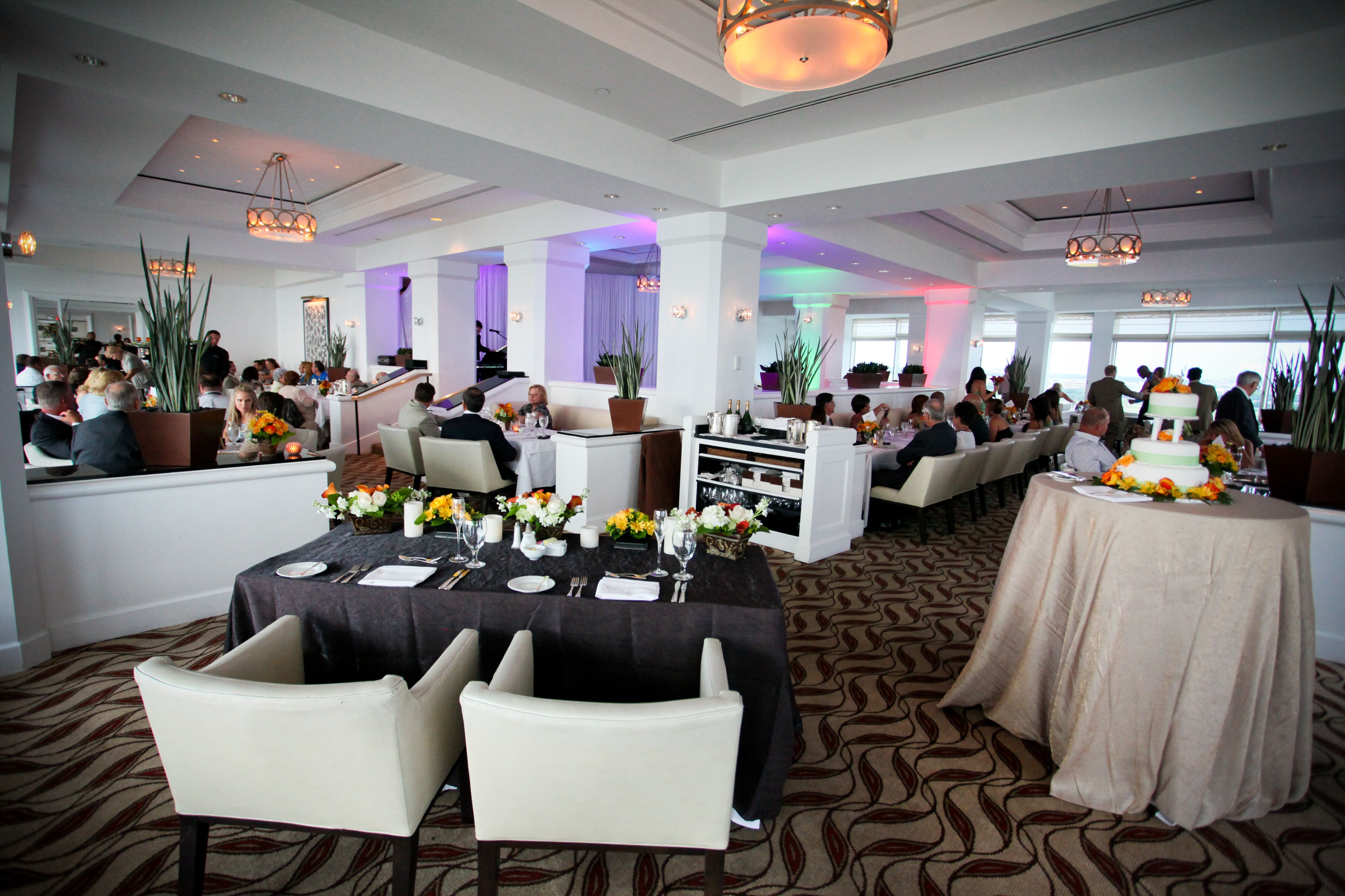 Armani's Roof Top Restaurant Events Weddings Grand