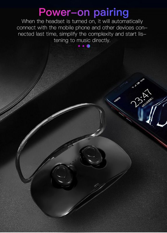 X18S TWS Earbuds Wireless Bluetooth Headphones Sport