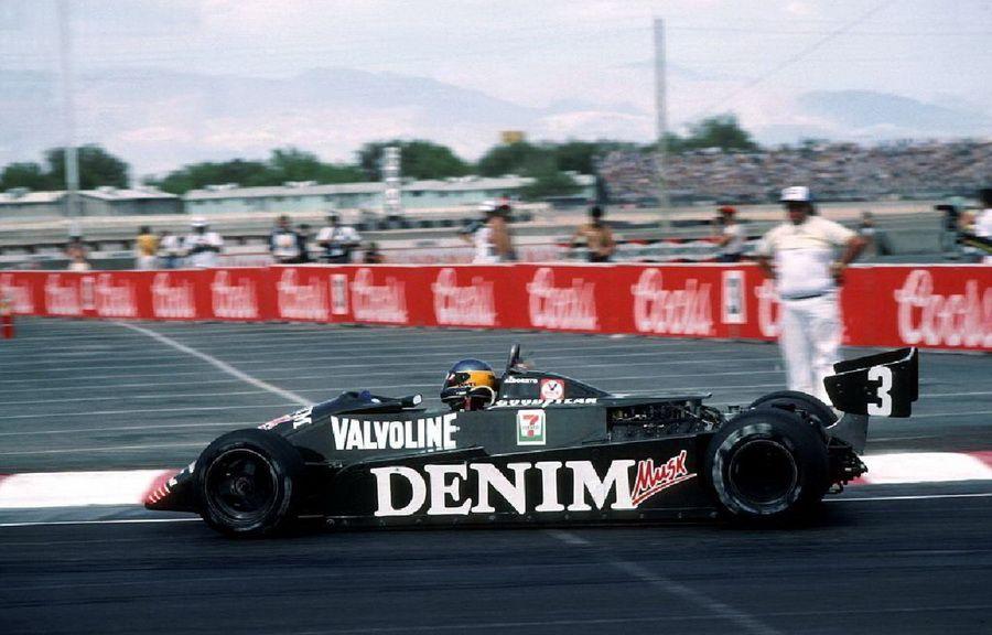 Michele Alboreto wins the 1982 Caesar's Palace Grand Prix