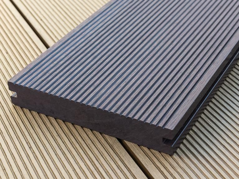 Anti slip backyard floor sale in thailand plastic wood for Plastic composite decking