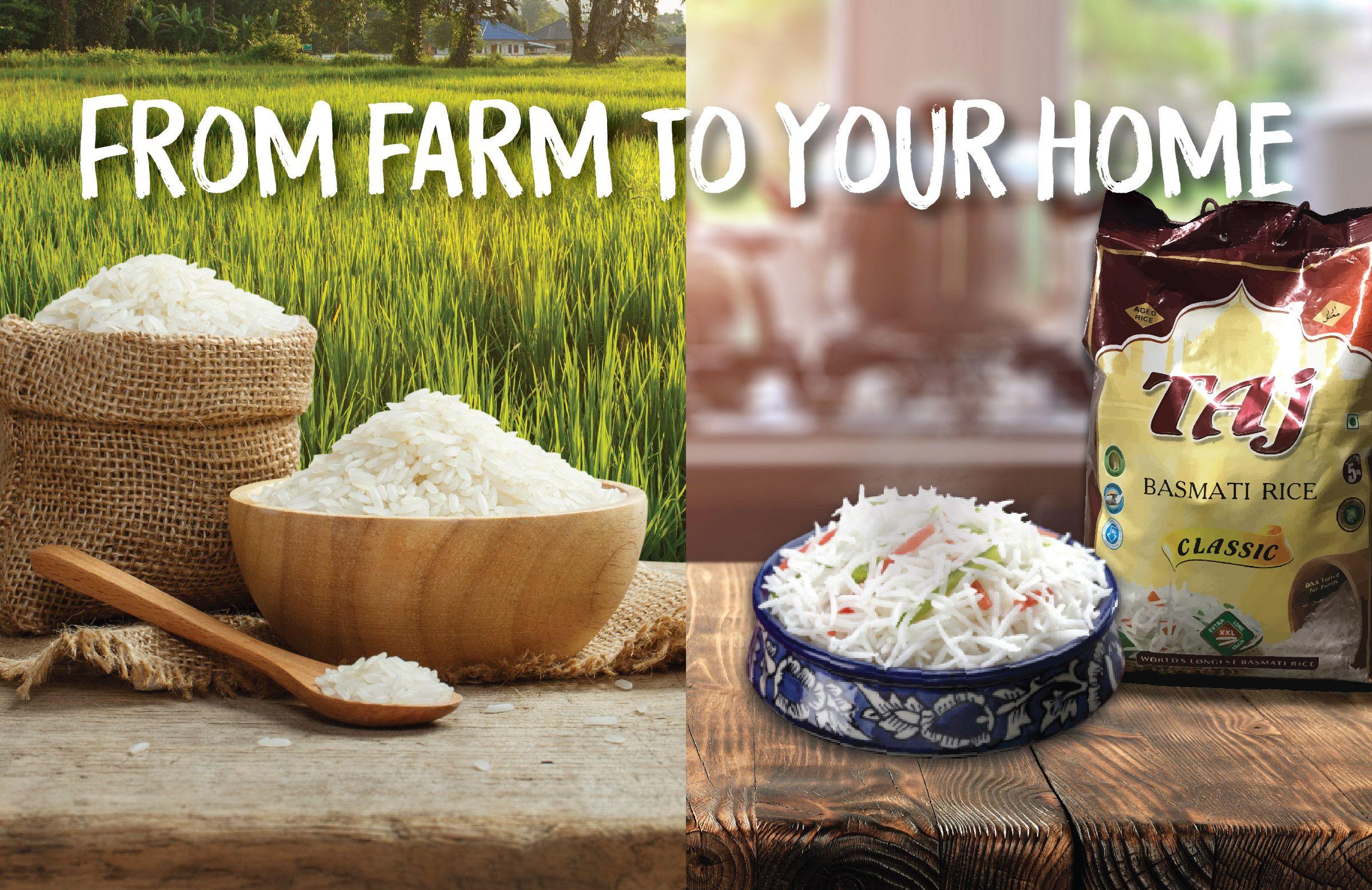 Farm To Home Taj Foods Food Rice Grain Dishes