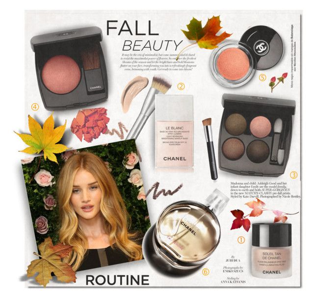 """""""Fall Beauty Routine"""" by rosie305 ❤ liked on Polyvore featuring beauty, Physicians Formula, It Cosmetics, Chanel, Beauty, beautyroutine and rosie305"""