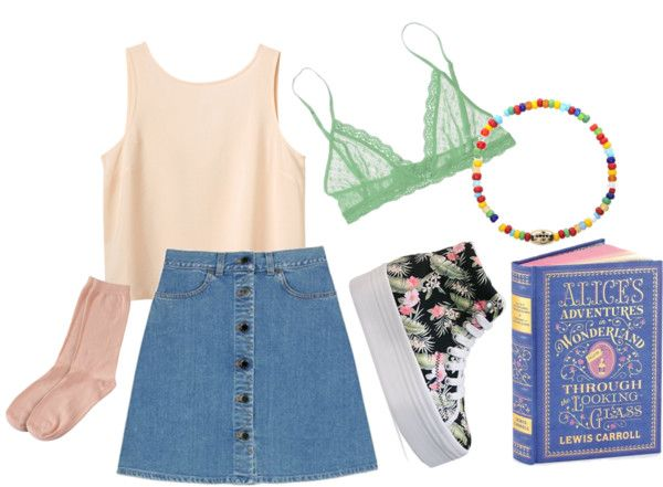 """""""Alice."""" by iz-gal ❤ liked on Polyvore"""