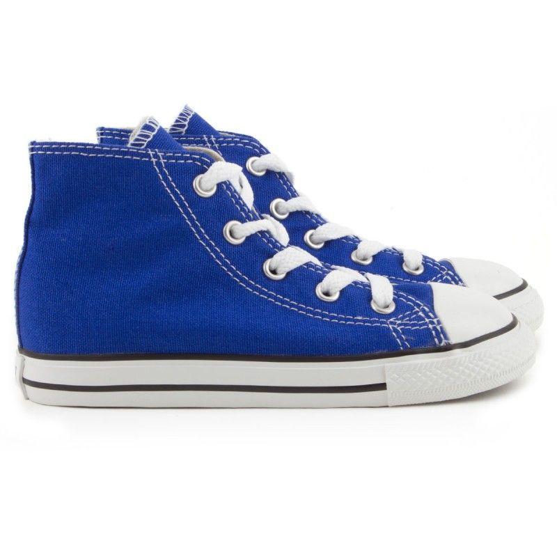 boys blue converse high tops