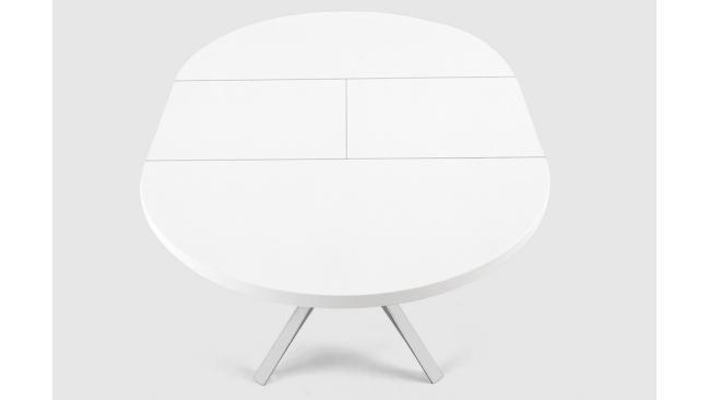 Ronde Witte Eettafel Uitschuifbaar.Ronde Tafel Wit Uitschuifbaar Art 10 1001 Huis In 2019