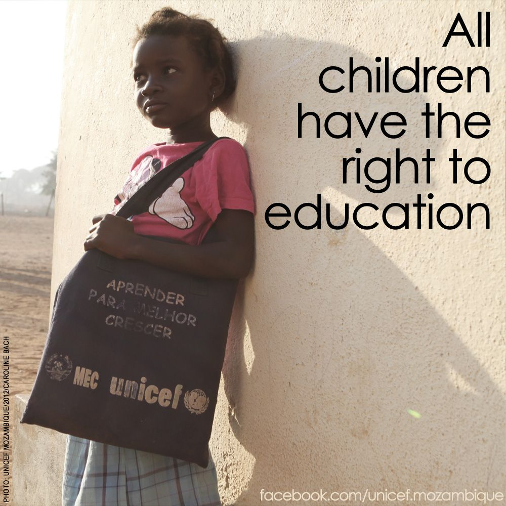 "childs right to education Millions still denied the right to education the world can and must do more to make 2015 a much better year for every child"" the right to education is a right."