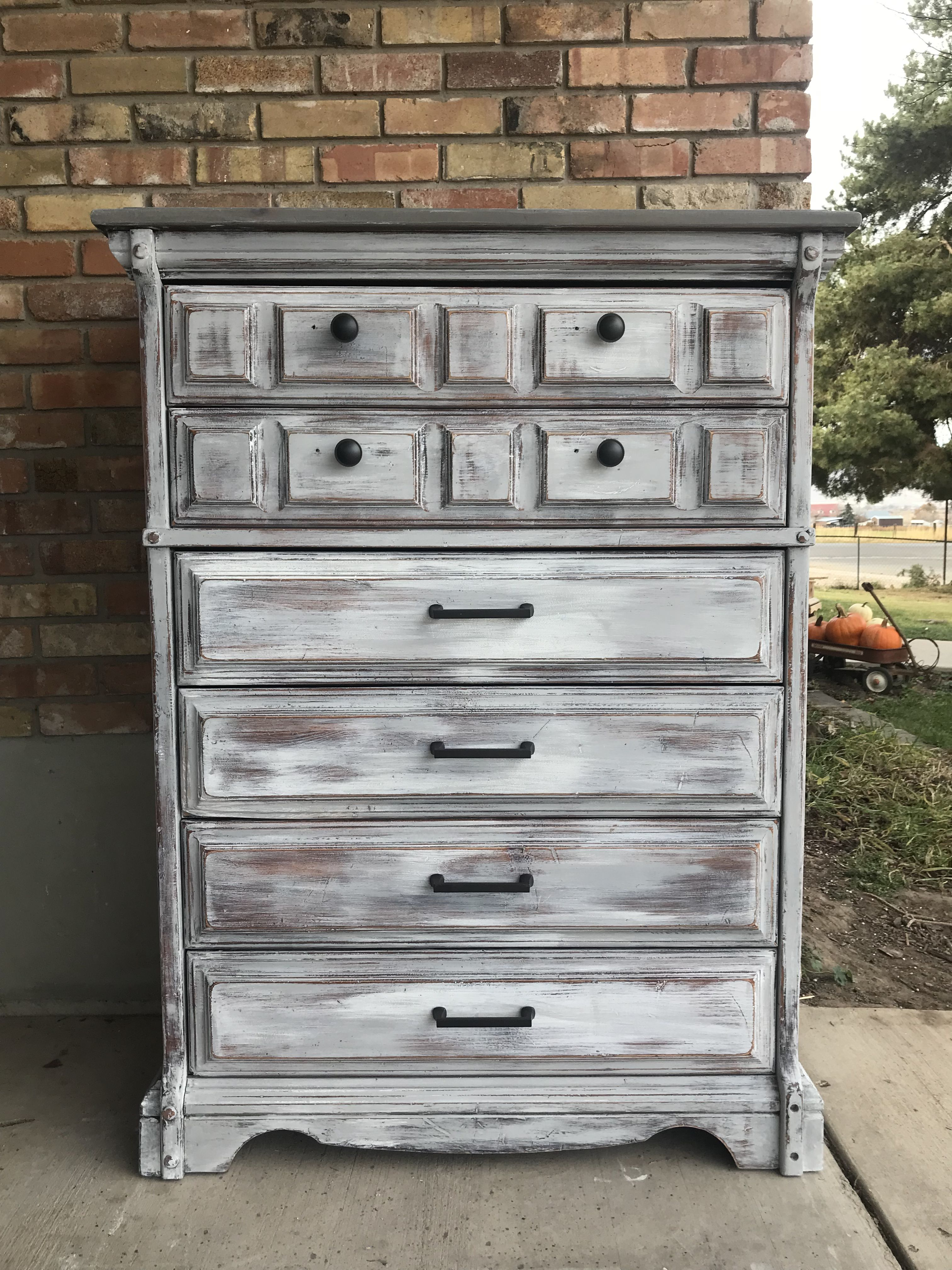 chest gray htm drawer dresser rustic grey in solid wood austin l modus