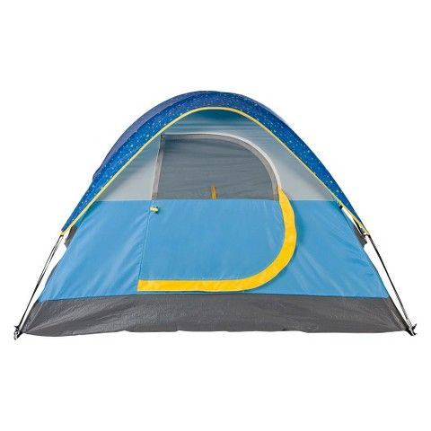 Coleman® 2-Person Tent with Glow in the Dark Rainfly - Blue  sc 1 st  Pinterest & Coleman® 2-Person Tent with Glow in the Dark Rainfly - Blue | Tents