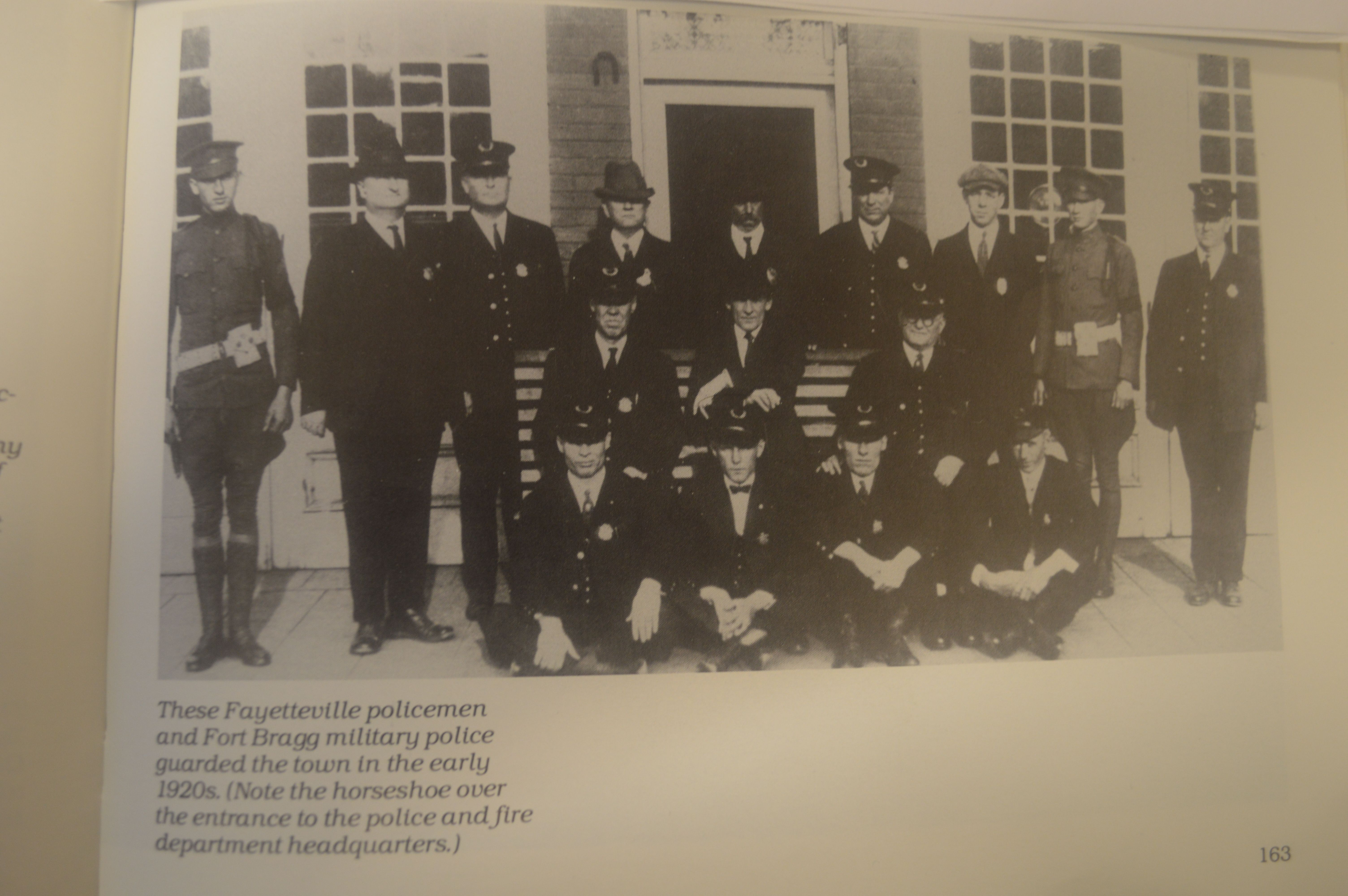 Early 1920 S Photo Of Fayetteville Nc Police And Mp S From Fayetteville North Carolina A Pictorial History By 1920s Photos Fayetteville Nc Military Police