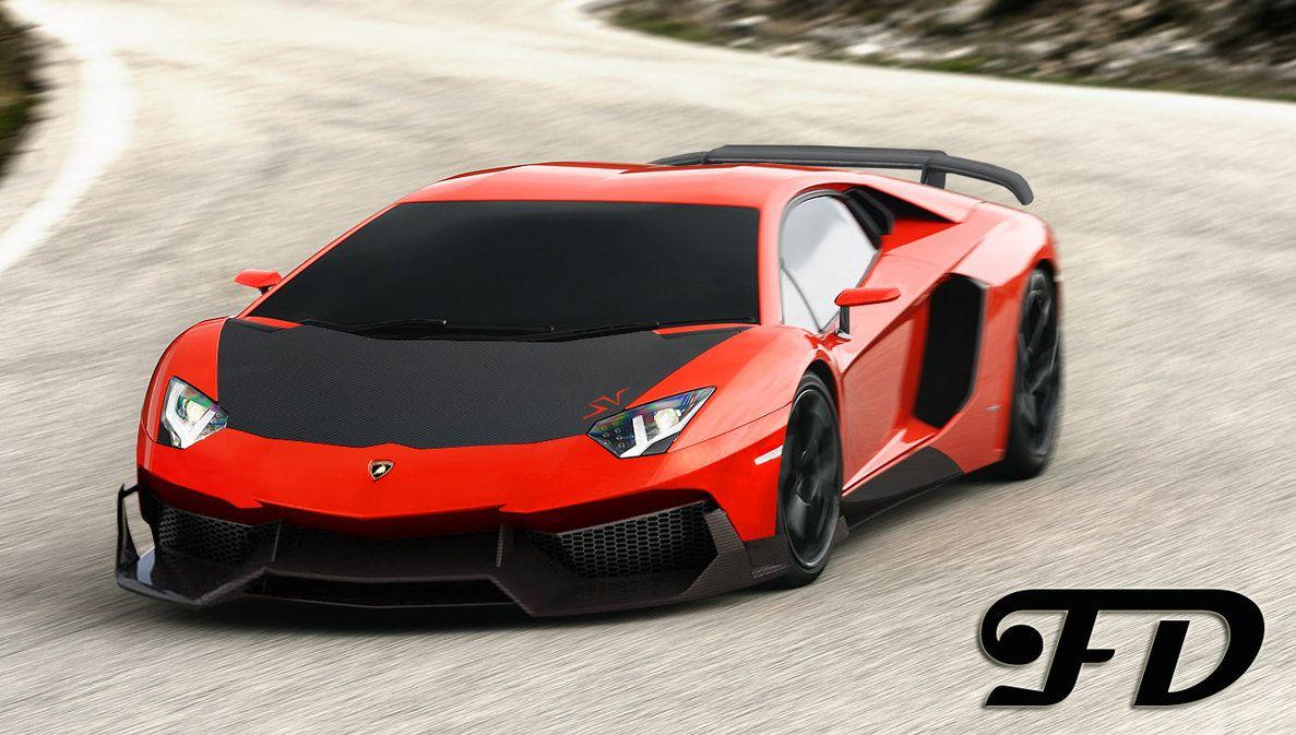 Lamborghini Aventador Lp770 4 Sv By Fady Pak On Deviantart Cars