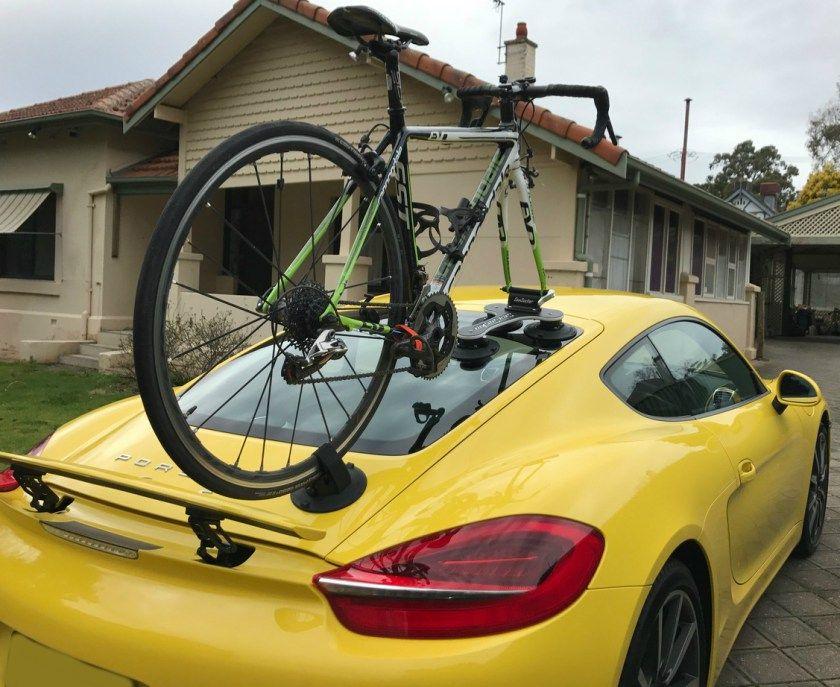 Porsche Cayman S 981 Bike Rack The SeaSucker Talon