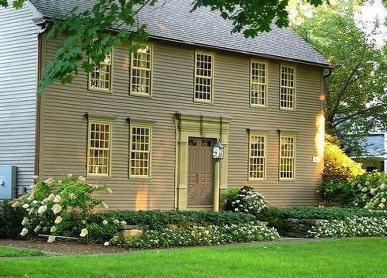 Idea Secrets As Well As Quick Guide In Pursuance Of Receiving The Very Best Outcome And Also Coming Up Colonial House Colonial Style Homes Colonial Exterior
