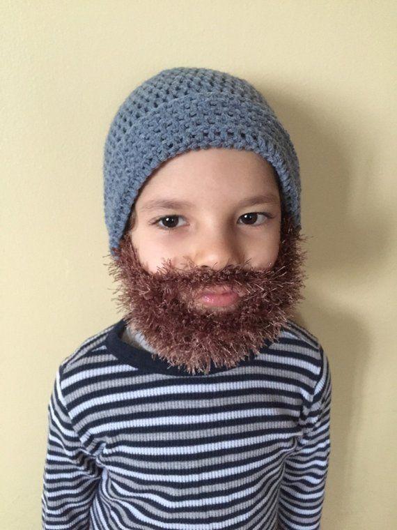 Handmade Crochet Beard hat 948d06cdf19