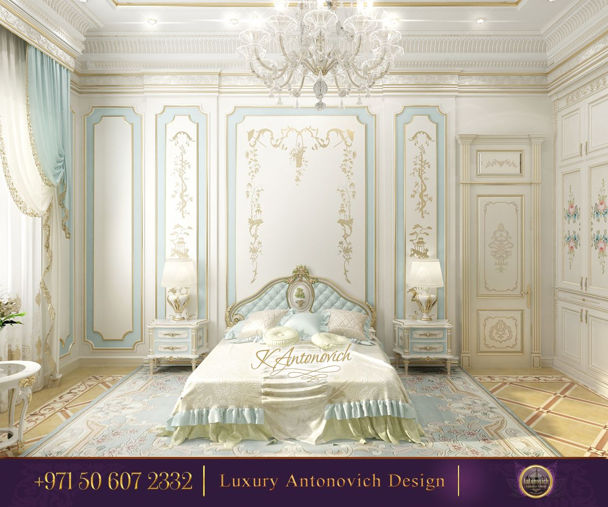 Beautiful dressing room design in dubai by luxury antonovich design - Beautiful Bedroom Interior Design From Luxury Antonovich Design