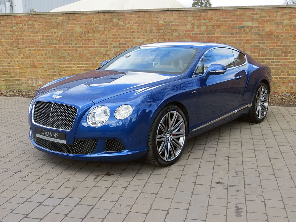 Bentley continental gt speed for sale at romans international