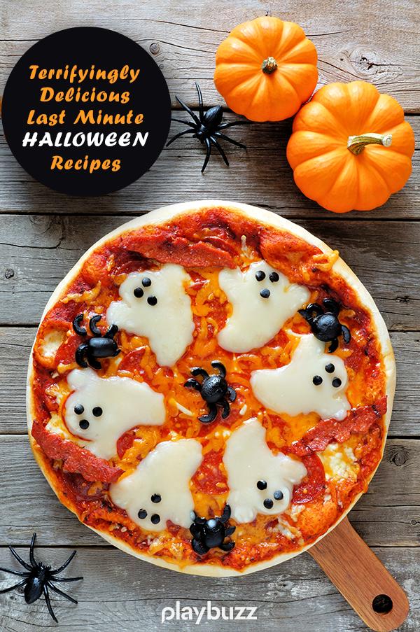 12 Terrifyingly Delicious Last Minute Halloween Recipes