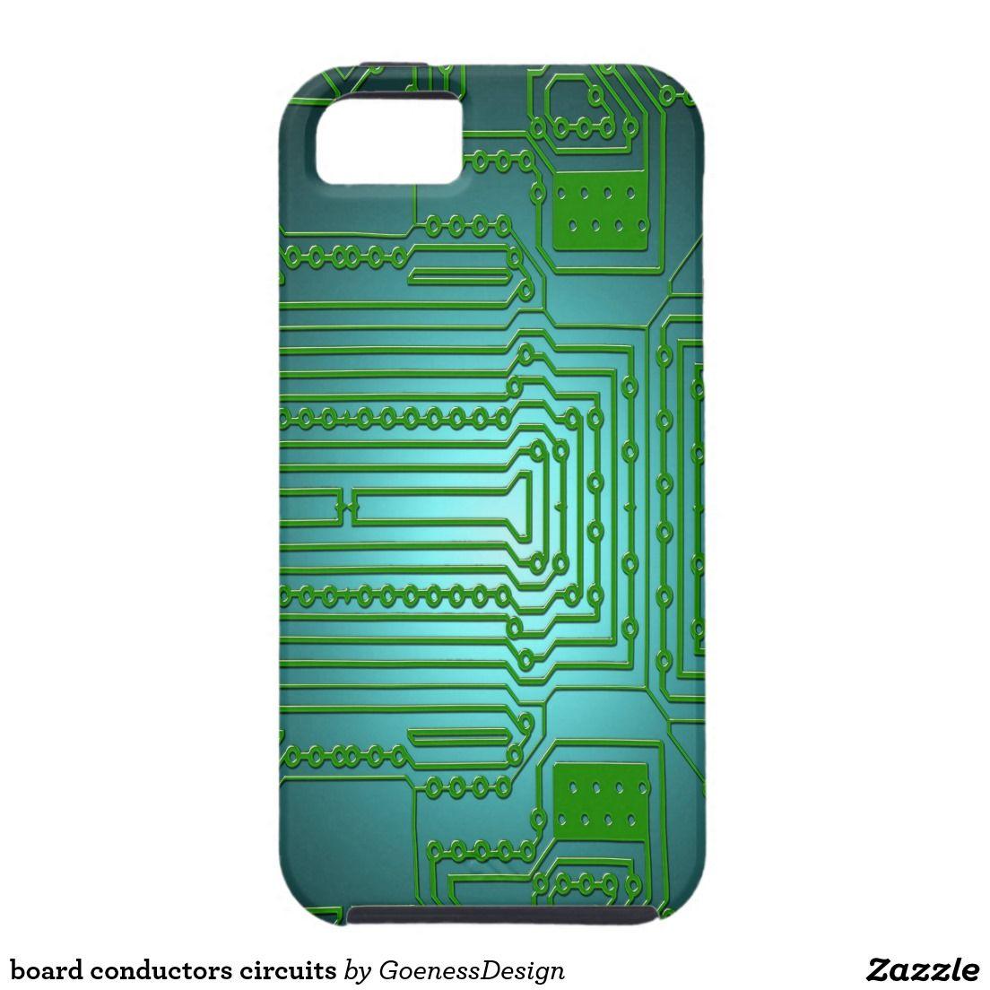 board conductors circuits iPhone SE/5/5s case