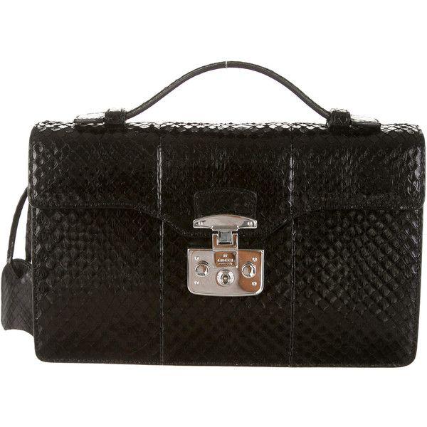 Pre-owned - Python handbag Gucci KkrZ9GX