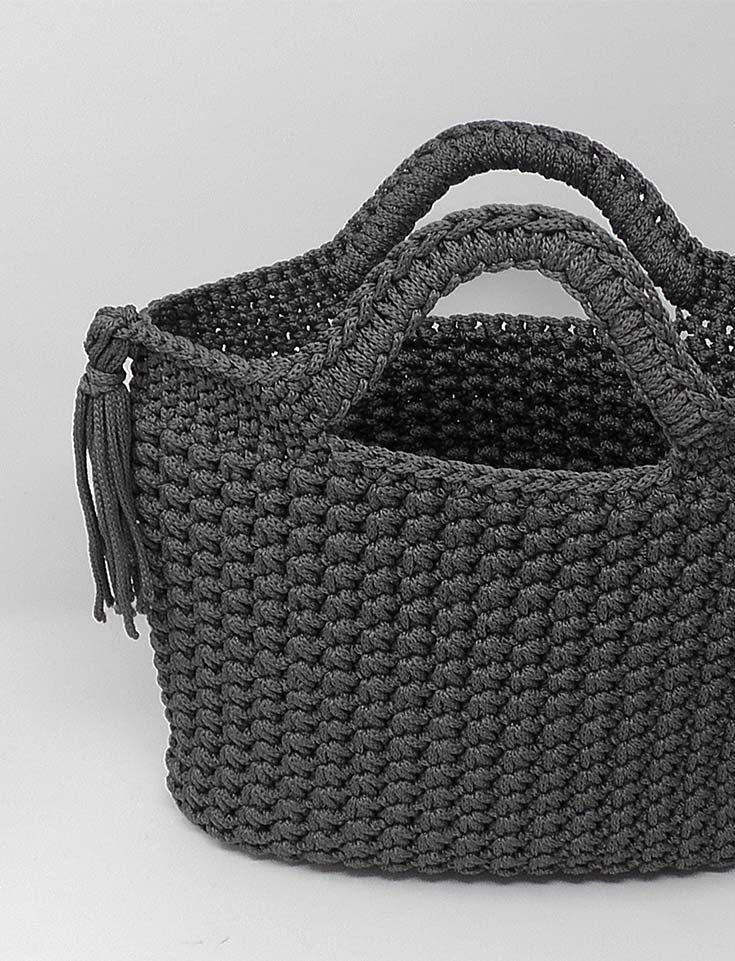 Photo of Tasche mit Sternchenmaschen – Häkelanleitung – Stoffe & Wolle – #Häkelanleitun…