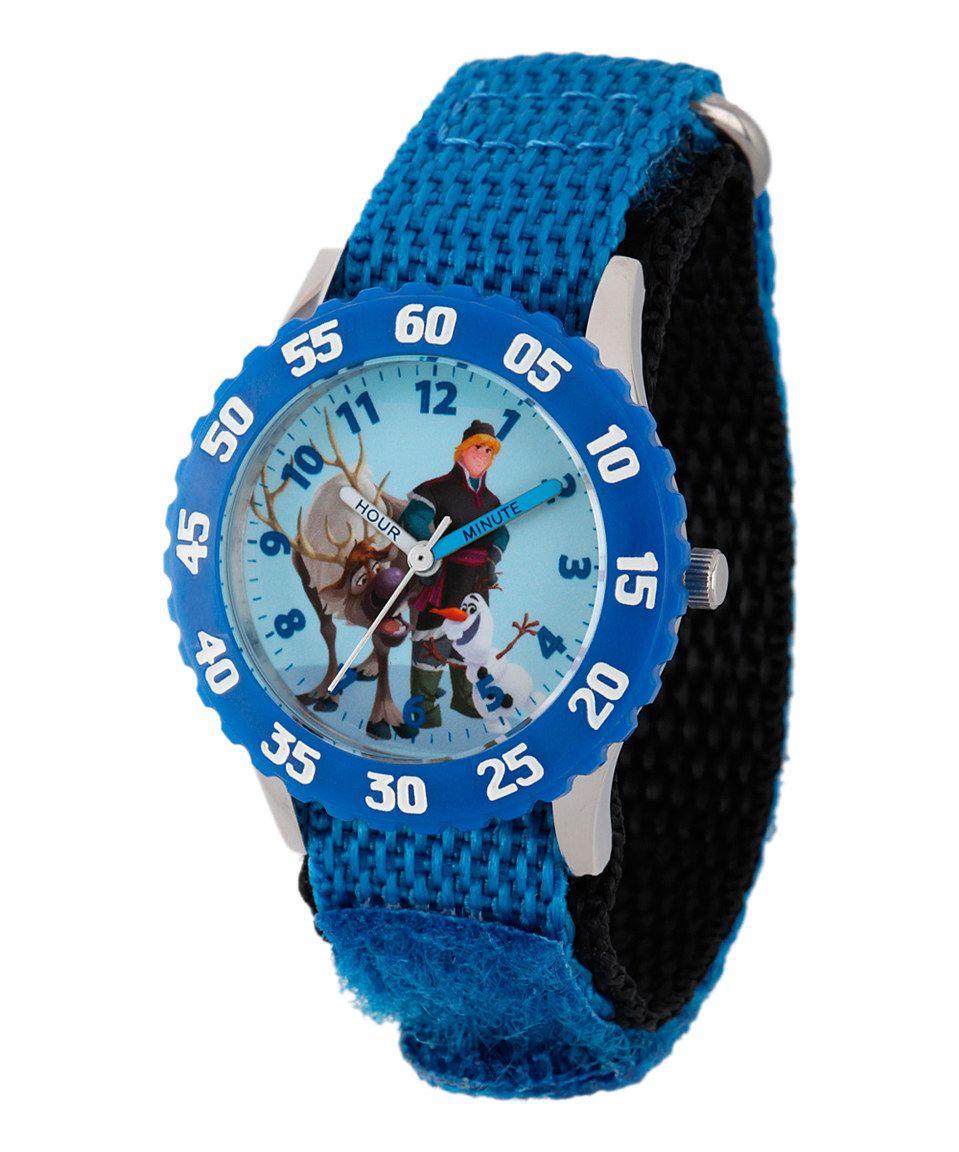 Blue Disney's Frozen Sven, Kristoff & Olaf Time Teacher