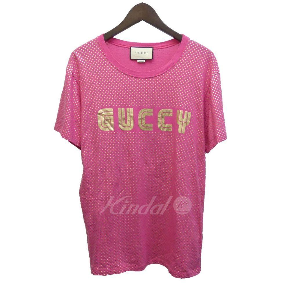 pretty nice 59069 3a996 GUCCI 18SS GUCCY print T-shirt 492347X3N19 limited size S ...