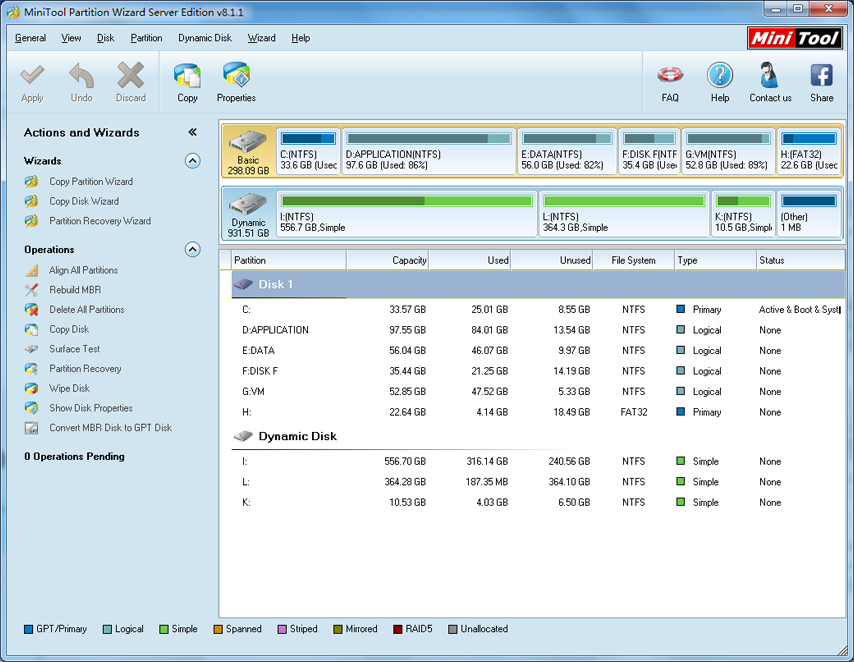 minitool partition wizard server edition license code