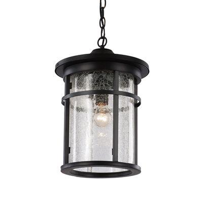 Lucid lighting 16 in black outdoor pendant light home garden lucid lighting 16 in black outdoor pendant light aloadofball Choice Image