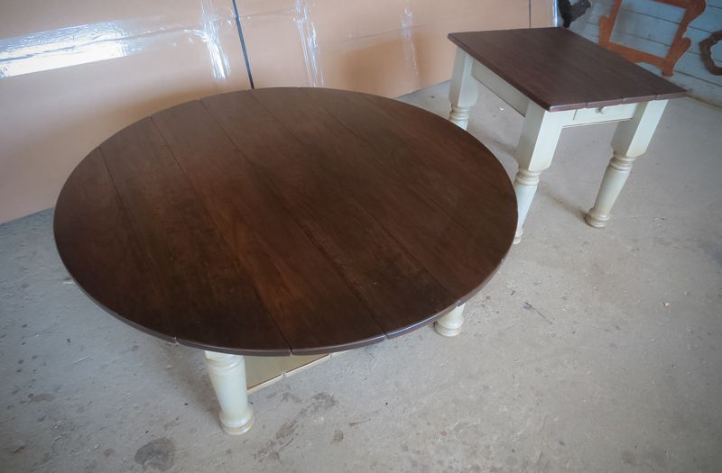 Amazing Round Coffee Table Square End Table Tops Cherry Dark Dailytribune Chair Design For Home Dailytribuneorg