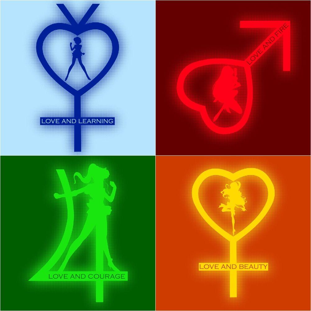 Inner senshi planet symbol sailor senshi sailor moon inner senshi planet symbol biocorpaavc Images