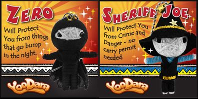 Battle of the YooDara Zero -VS- Sheriff Joe? Who is your favorite? Cast your vote on our FB page.
