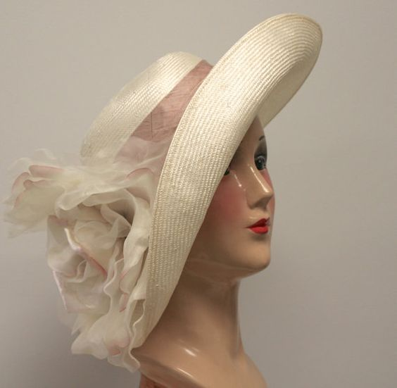 Kentucky Derby Hat Garden Party Hat Couture by MakowskyMillinery, $265.00: