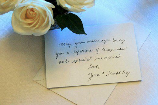 Ideas For What To Write In A Wedding Card If You Are Not Close Friend Of The Bride