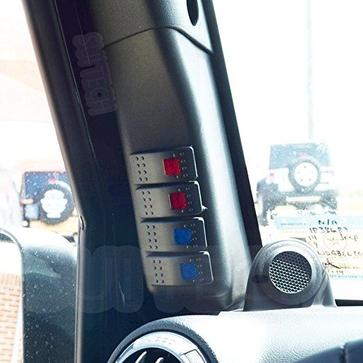 Amazon.com: Electronic Control System for Jeep Wrangler - 4 Switch LED  Lights Control Module: Au… | Jeep wrangler accessories, Jeep wrangler, Jeep  wrangler interiorPinterest