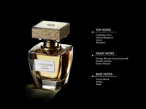 The New Rich Fragance Of Giordani Gold Essenza Parfum By Oriflame