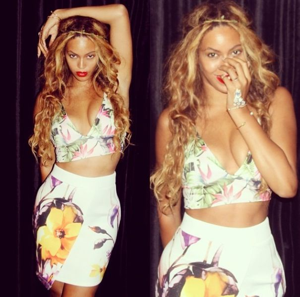 Beyoncé Shows Off Her Sexy, Cute Style On Instagram August, 2014