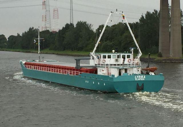 Voormalige Harns  18 augustus 2015 op het Kieler kanaal met bestemming Liepaja  http://koopvaardij.blogspot.nl/2015/08/voormalige-harns.html