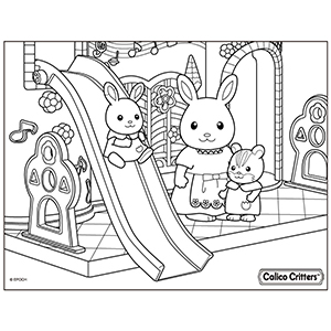 Coloring | Calico Critters