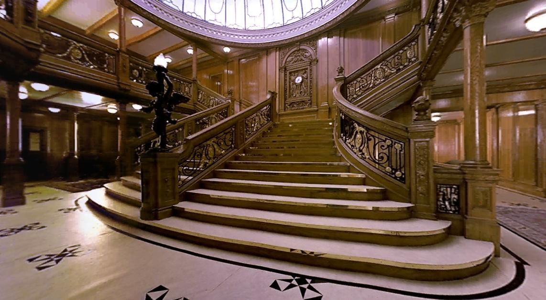 Reconstruction From The Movie Titanic Titanic Grand