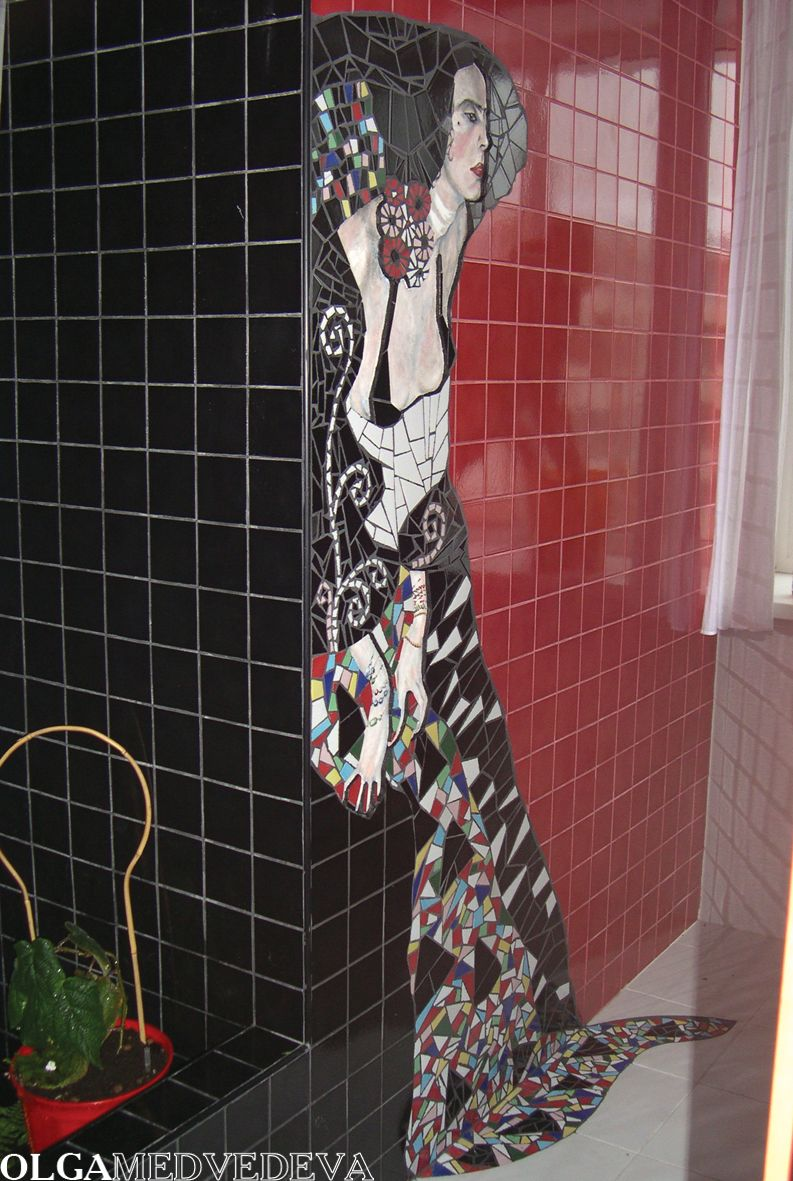 This is so gorgeous... #Mosaic. If you could describe this wall with one word, what would it be?