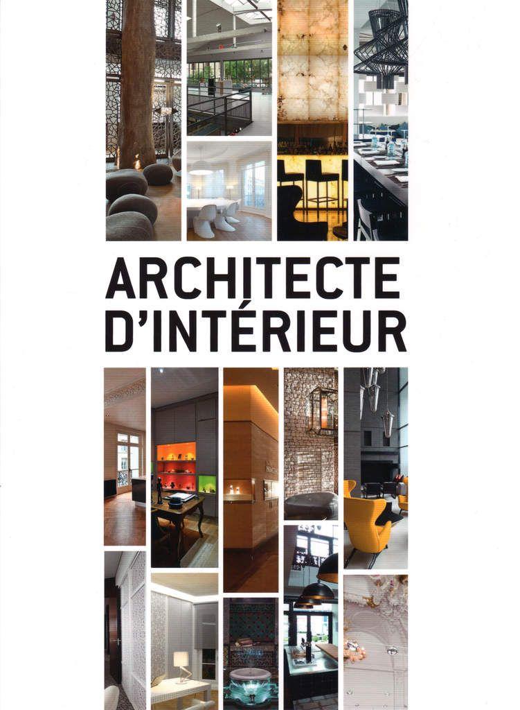 plaquette architecte d u0026 39 interieur