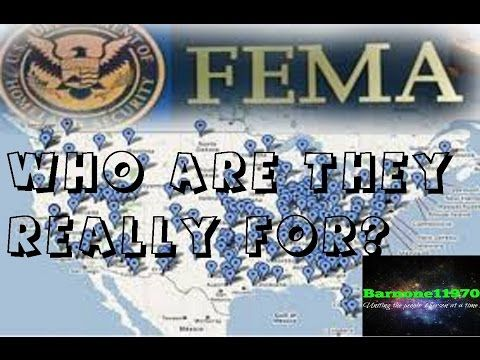 Fema Camps  Who Are They Really For YouLl Be Surprised