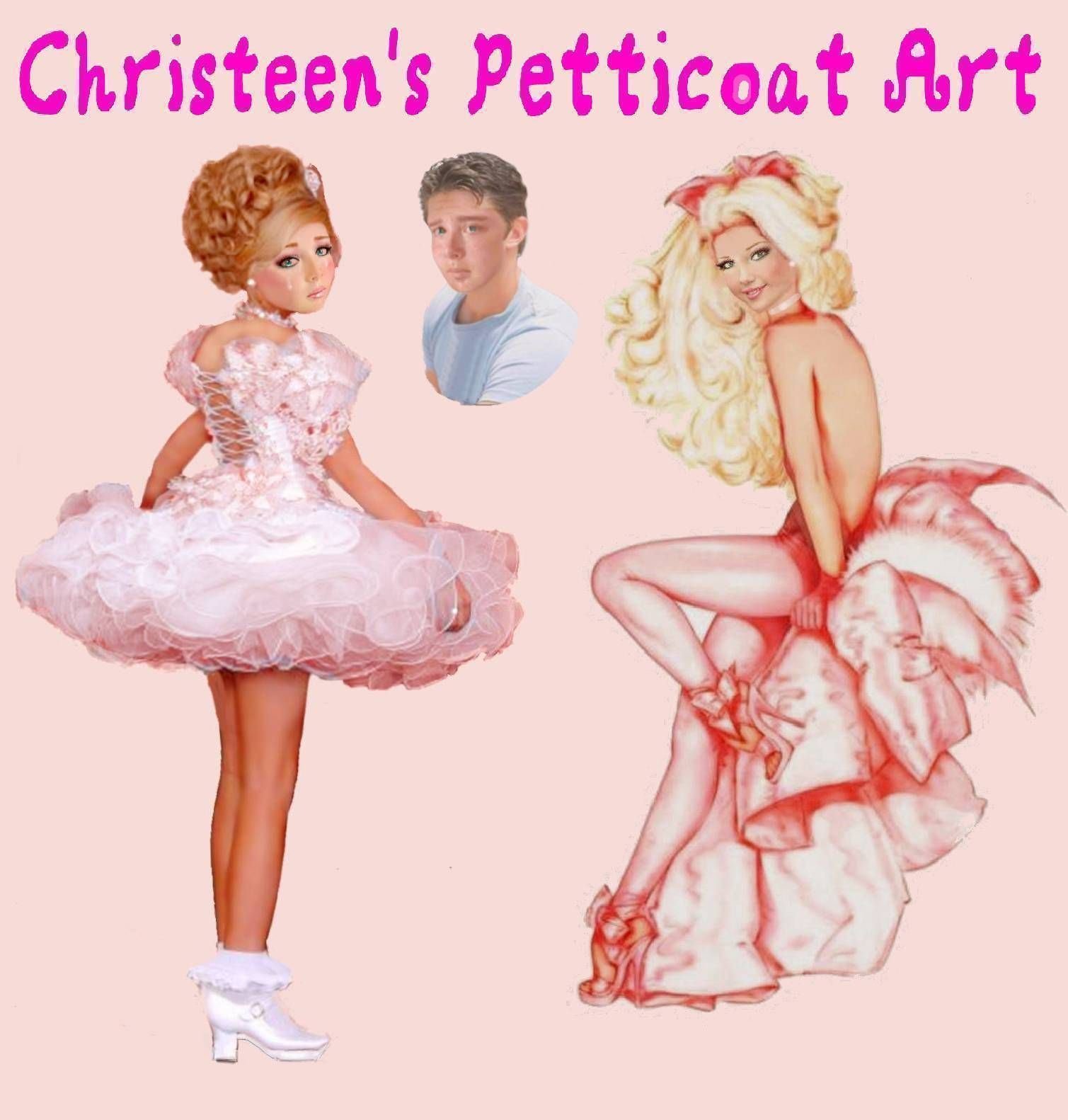 Pin by Carole Jean's Petticoat Punishment Art on Drawings ...