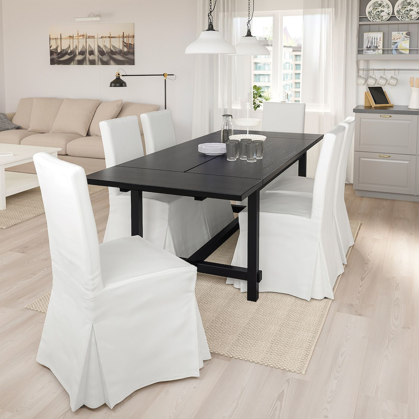 IKEA - NORDVIKEN / HENRIKSDAL Table and 4 chairs in 2020 ...
