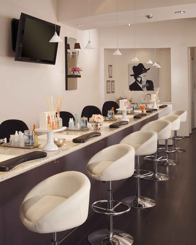 nail salon design launch party