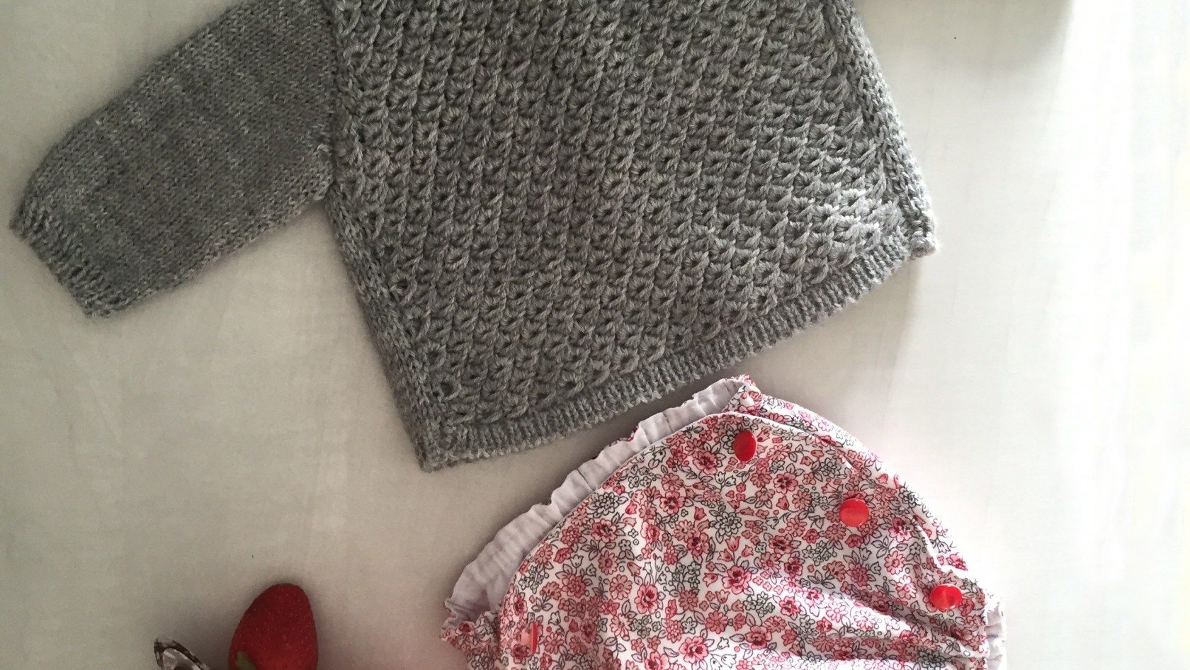 DIY – Jersey Baby tricot and a tutorial on how to make anemone stitch
