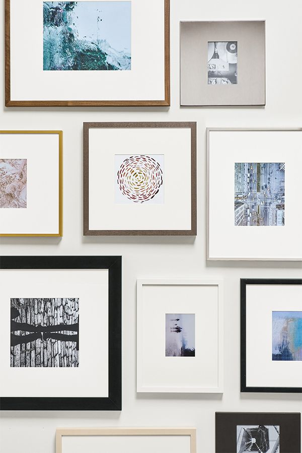 Click To Learn How To Create A Modern Frame Wall Frames On Wall