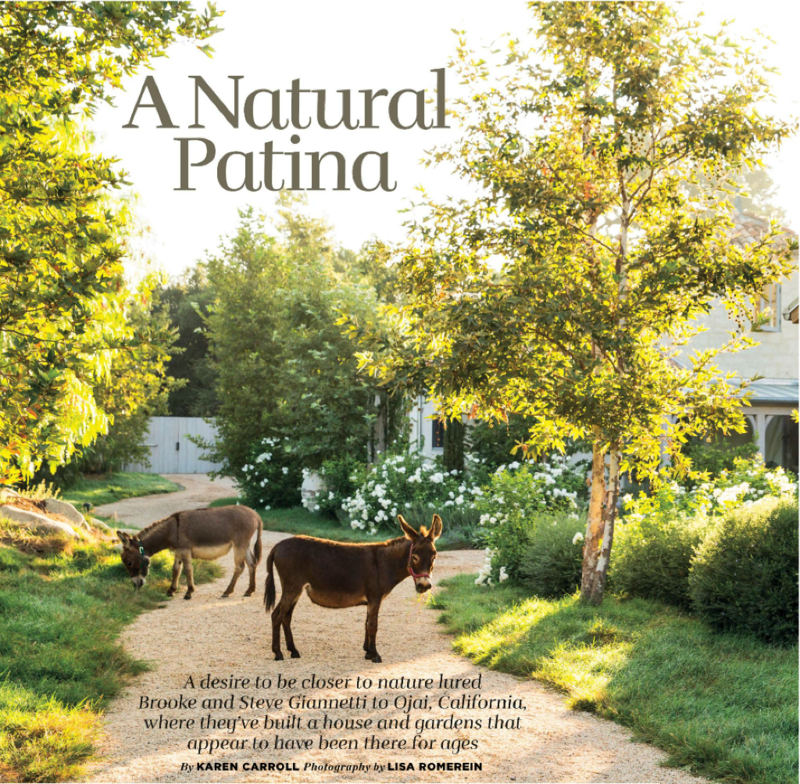 "Country Homes And Gardens Magazine: Flower Magazine And A Couple Of Upcoming ""Patina Farm"