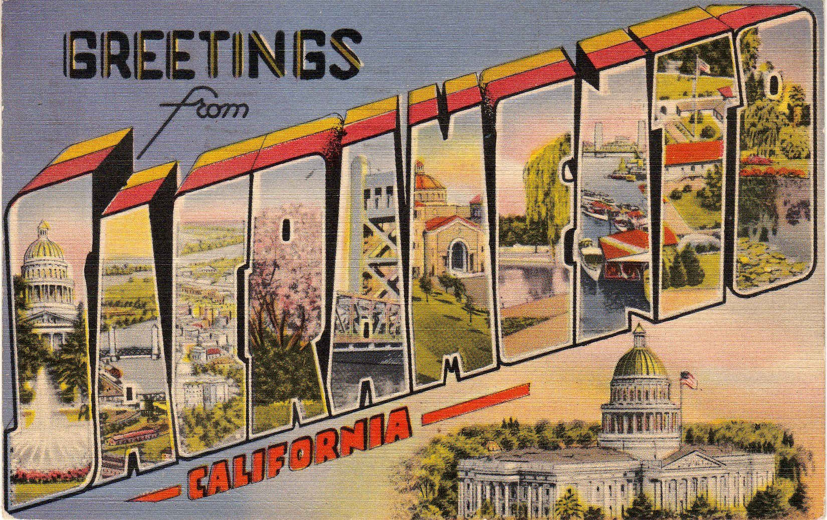 Greetings from sacramento one of my favorites