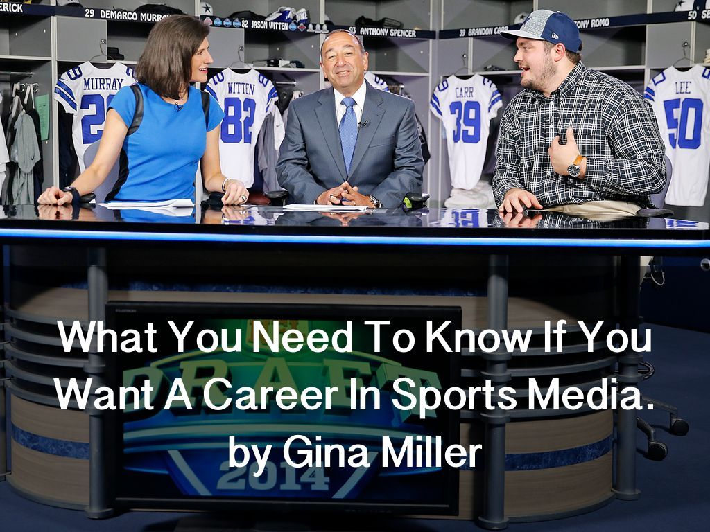 """""""What You Need To Know If You Want A Career In Sports"""