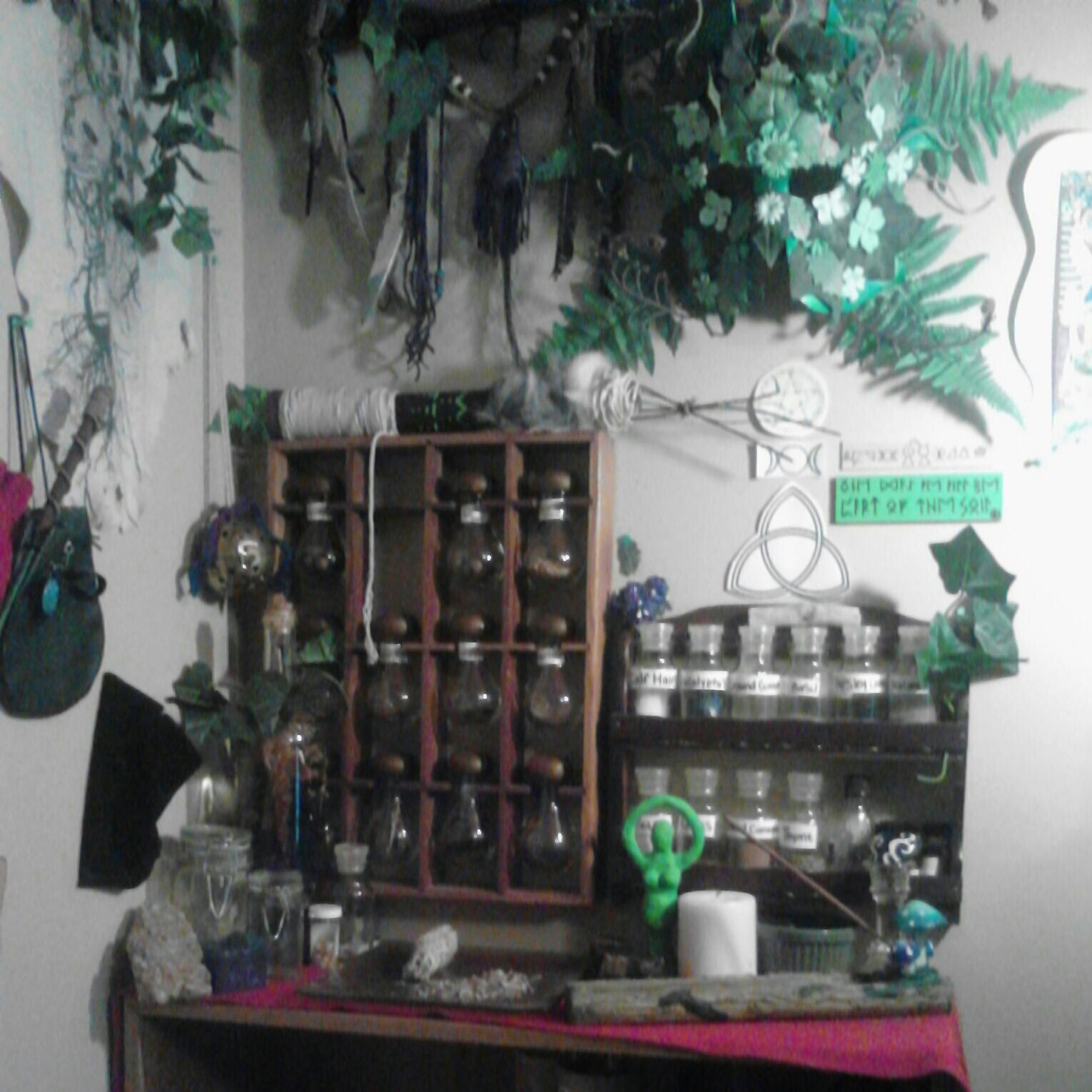 my finished altar